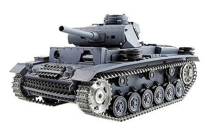 Panzerkampfwagen III Ausf L SD KFZ 141-1 Pro 1:16 40Mhz