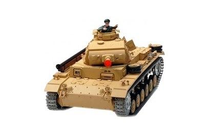 Р/у танк Heng Long Tauch Panzer III Ausf H 1:16 40Mhz