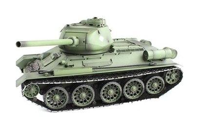 Радиоуправляемый танк Heng Long Russia T34-85 1:16 2.4G