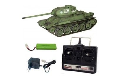 Радиоуправляемый танк Heng Long Russia T34-85 Pro 1:16 2.4G