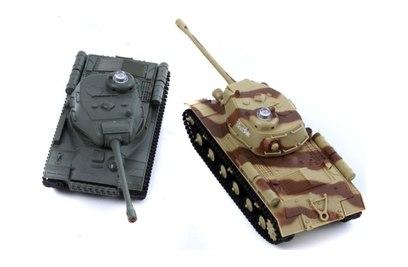 Танковый бой Huan Qi 529 ИС-2 vs ИС-2 1:48 35Mhz