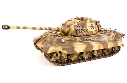 VSTank German King Tiger Henschel Turret Brown 1:24 2.4G