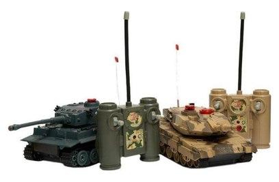 Танковый бой Huan Qi 552 1:32 2.4G