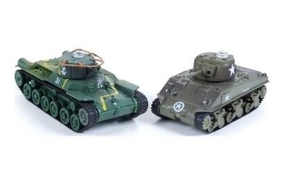 """Р/у танковый бой PILOTAGE """"Type 97 и Sherman"""" ИК"""