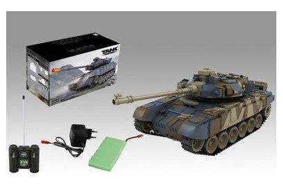 Радиоуправляемый танк Zegan Т90 1:18 27Mhz