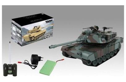 Р/у танк Zegan US M1A2 Abrams 1:18 27Mhz