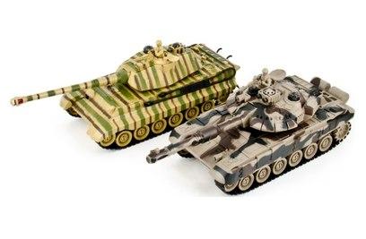 Танковый бой T90 vs Tiger II 1:28