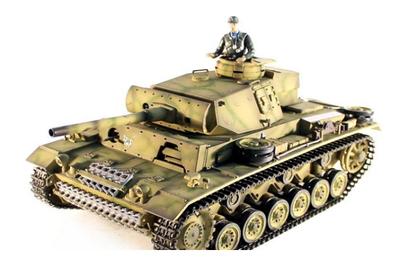 Радиоуправляемый танк Taigen Panzerkampfwagen III 1:16 2.4G