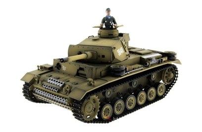 Taigen Panzerkampfwagen III ИК 1:16 2.4G