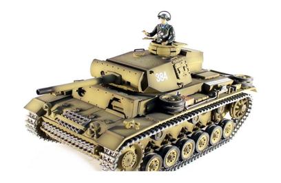 Taigen Panzerkampfwagen III HC 1:16 2.4G
