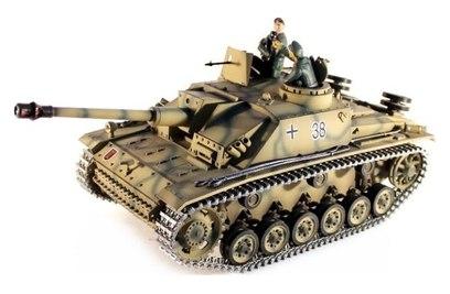Радиоуправляемый танк Taigen Sturmgeschutz III HC Pro масштаб 1:16 - TG3868-1HC-IR