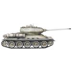Taigen Russia T34-85 Winter Camouflage 1:16 2.4G