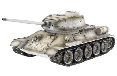Taigen Russia T34-85 Winter Camouflage Edition 1:16 ИК