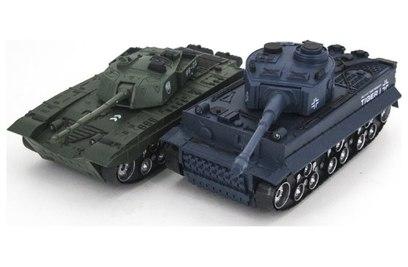 Танковый бой Тигр и Type 99 1:32 27|40MHz