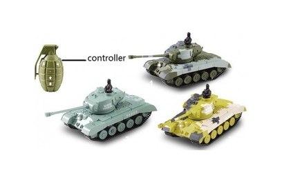 Радиоуправляемый микро танк 1:77 Meixin - 2232