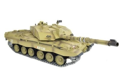 Радиоуправляемый танк Heng Long British Challenger 2 PRO 2.4GHz масштаб 1:16 - HL3908-1PRO