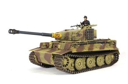 Радиоуправляемый танк немецкий Tiger I Waltersons ИК масштаб 1:24 RTR