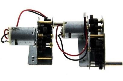 Редуктор левый|правый с моторами (металл) Taigen TG3878-041 - TG3878-041