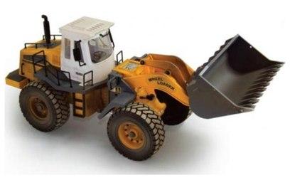 Радиоуправляемый бульдозер Hobby Engine Wheeled