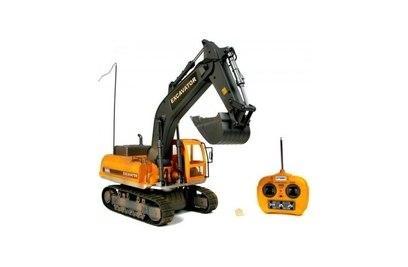 Экскаватор на радиоуправлении Hobby Engine Excavator 1:12