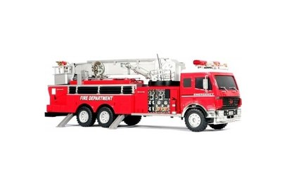 Радиоуправляемая пожарная машина Hobby Engine Fire Engine 1:18