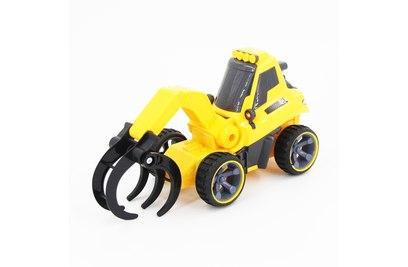 Радиоуправляемый трактор с куном для малышей 1:18 - 7777-09