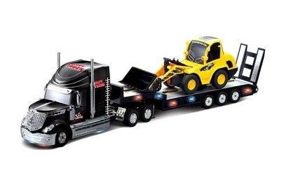 Радиоуправляемый грузовик и трактор Rui Chuang Heavy Truck and Engineering Truck 1:32