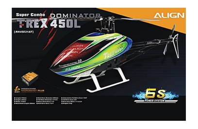 Align T-Rex 450L Dominator 6S Super Combo (MicroBeast P)