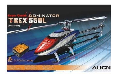 Align T-Rex 550L Dominator Super Combo