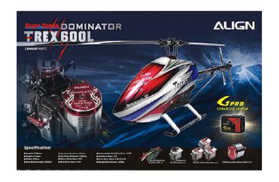 Align T-Rex 600L Dominator Super Combo KIT-набор