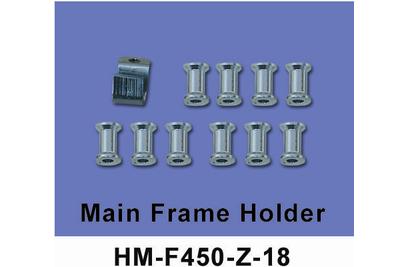 Крепление основной рамы Walkera - HM-F450-Z-18