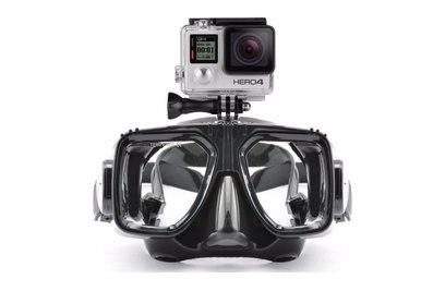 Маска для дайвинга с креплением под GoPro/SJCam