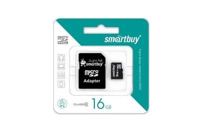SmartBuy Micro SDHC 16Gb 10 class карта памяти