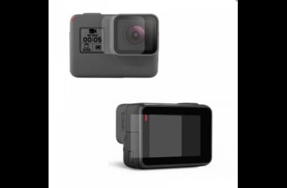 Защитное стекло для экрана и линз GoPro 5