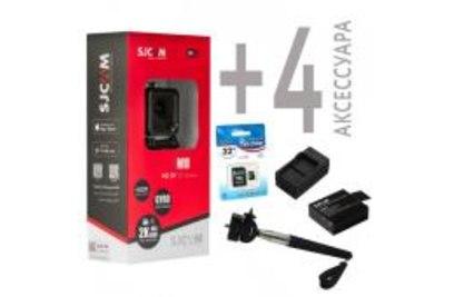 Экшн-камера SJCAM M10 Wi-Fi + 4 аксессуара