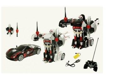 Радиоуправляемый робот-трансформер MZ Porshe 911 Meizhi - 2337P