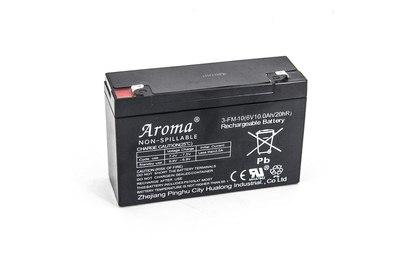Аккумулятор Aroma 6V10Ah|20Hr - A-3FM10