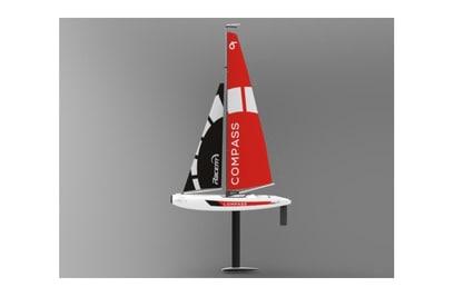 Радиоуправляемая яхта Compass RG65 650мм RTR 2.4 G - TW791-1-RTR