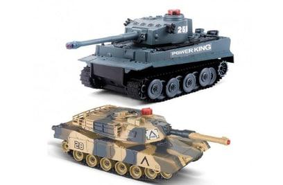 Huan QI Tiger vs Leopard масштаб 1:28 2.4G - 508C
