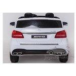 Детский электромобиль Mercedes Benz GLS63 AMG LUX 4Х4 Лицензия - HL228 белый