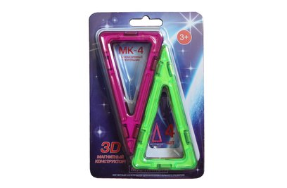 Набор элементов равнобедренные треугольники МАГНИКОН - MK-4-РТ