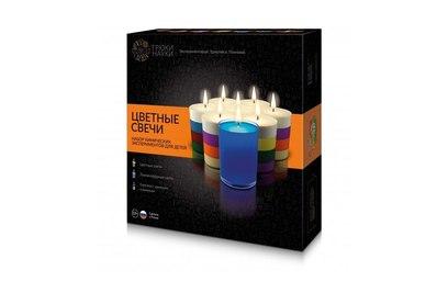 Набор химических экспериментов для детей Цветные свечи - Z003