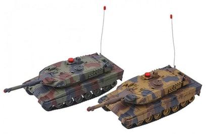 Радиоуправляемый танковый бой 2.4G Abrams vs Abrams масштаб 1:24 Huan QI - 558(2.4G)