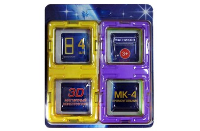 Набор элементов прямоугольники МАГНИКОН - MK-4-ПР