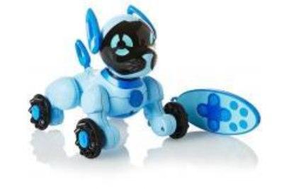 Интерактивная cобачка WowWee Чиппи голубая - 3818-Blue