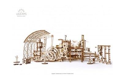3D-пазл механический Ugears Фабрика роботов - 70039