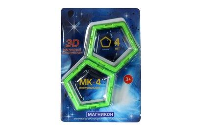 Набор элементов пятиугольники МАГНИКОН - MK-4-5У