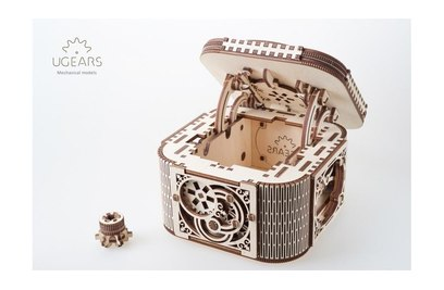 3D-пазл механический Ugears Шкатулка с секретом - 70031