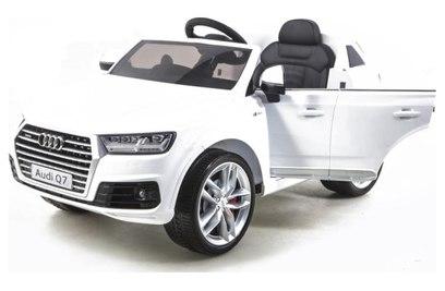Детский электромобиль Audi Q7 LUXURY 2.4G - White - HL159-LUX-W