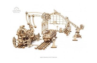 3D-пазл механический Ugears Манипулятор на рельсах - 70032